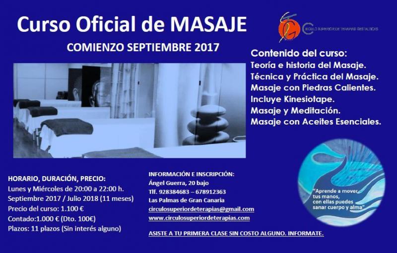 CURSO MASAJE