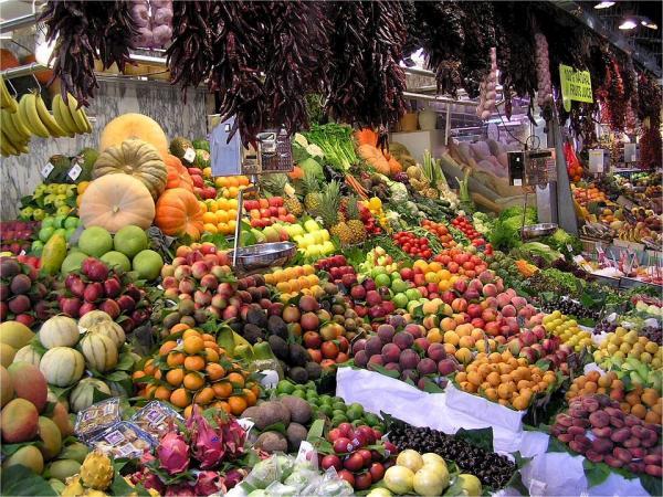 Frutas y vitaminas
